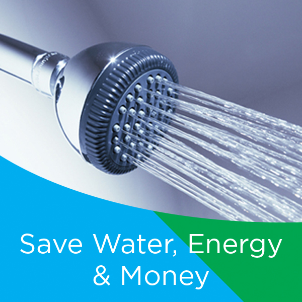 Save water, energy & money
